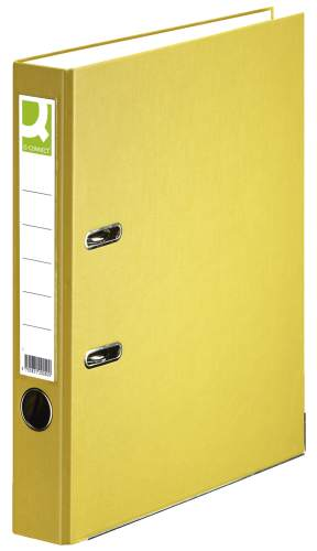 Ordner PP A4 50mm gelb