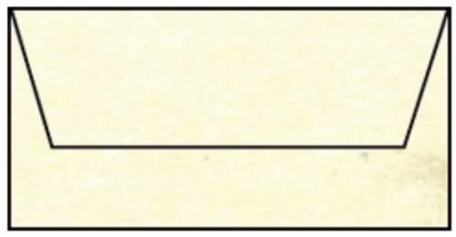 Briefhülle DL 5ST chamois mar.