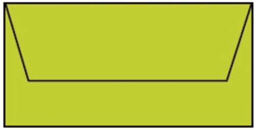 Briefhülle DL 5ST hellgrün