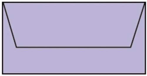 Briefhülle DL 5ST lavendel