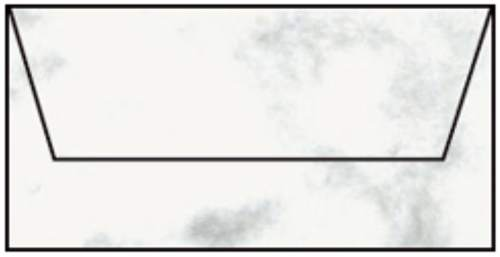Briefhülle DL 5ST wolkengrau