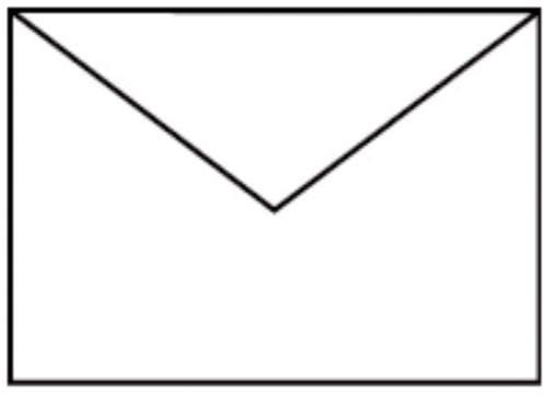 Briefhülle C6 5ST weiß