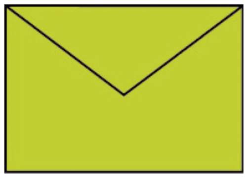 Briefhülle C6 5ST hellgrün