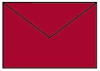 Briefhülle C6 5ST klatschmohn