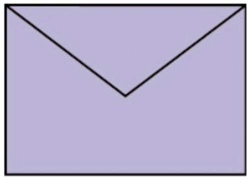 Briefhülle C6 5ST lavendel