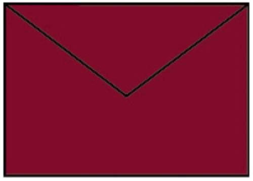 Briefhülle C6 5ST rosso