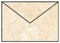 Briefhülle C6 5ST saharabraun