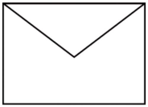 Briefhülle B6 5ST weiß