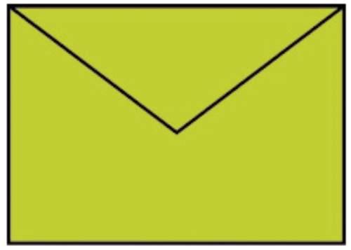 Briefhülle B6 5ST hellgrün