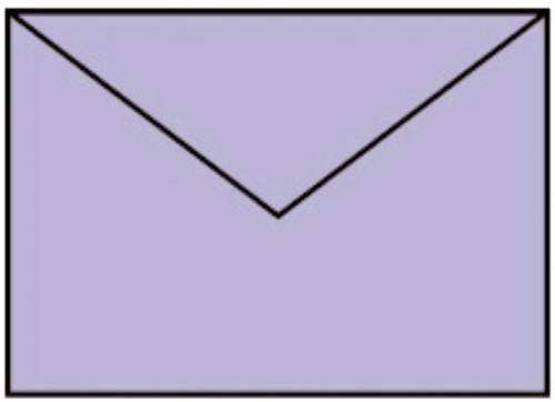 Briefhülle B6 5ST lavendel