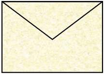 Briefhülle B6 5ST sandgelb