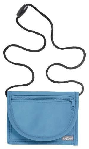 Brustbeutel 13x10cm Trend hellblau