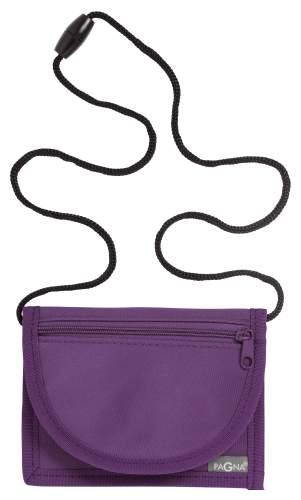 Brustbeutel 13x10cm Trend lila