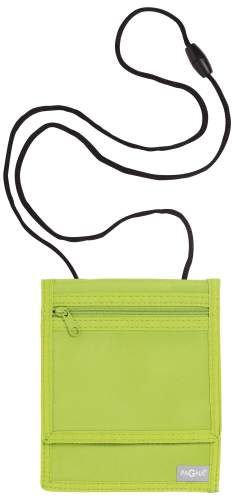 Brustbeutel 16x13cm Style up lindgrün