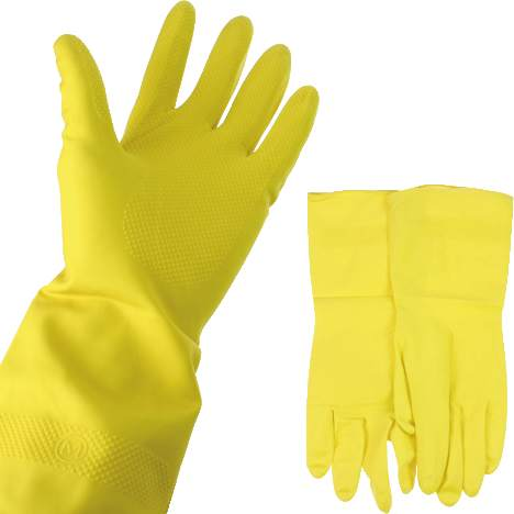 Gummi Handschuh klein