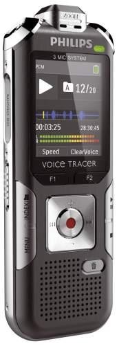 PHILIPS Audiorecorder DVT6010, 8 GB Speicher