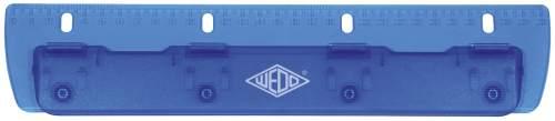 WEDO Taschenlocher, 4-fach Lochung, ICE blau
