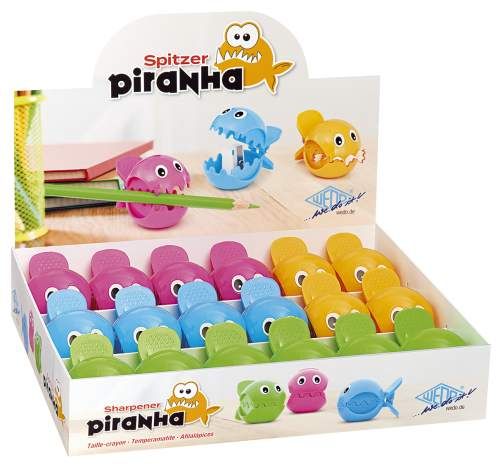 #18xDosenspitzer Piranha sortiert