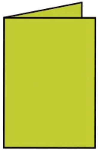 Briefkarte A6 HD 5ST h.grün