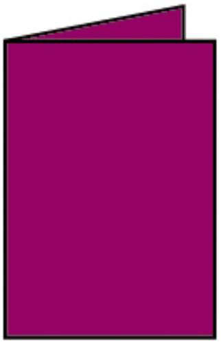 Briefkarte A6 HD 5ST amarena
