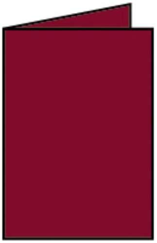 Briefkarte A6 HD 5ST rosso