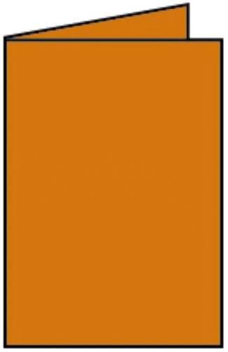 Briefkarte B6 HD 5ST apfelsine
