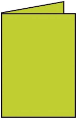 Briefkarte B6 HD 5ST h.grün