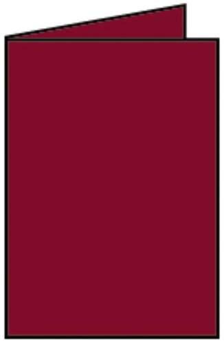 Briefkarte B6 HD 5ST rosso