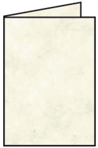Briefkarte B6 HD 5ST sandgelb