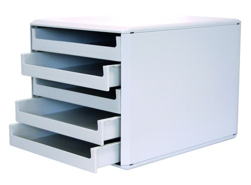 Schubladenbox 5 Laden gr/gr