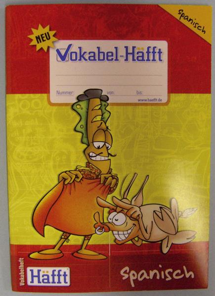 HÄFFT Vokabelheft A5 Spanisch