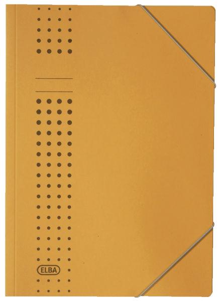 #25xELBA Eckspanner A4 gelb