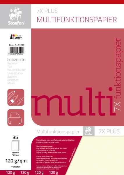 Multifunktions-Papier A4 120G 35Bl Creme