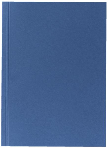 #10xAktendeckel A4 250g blau
