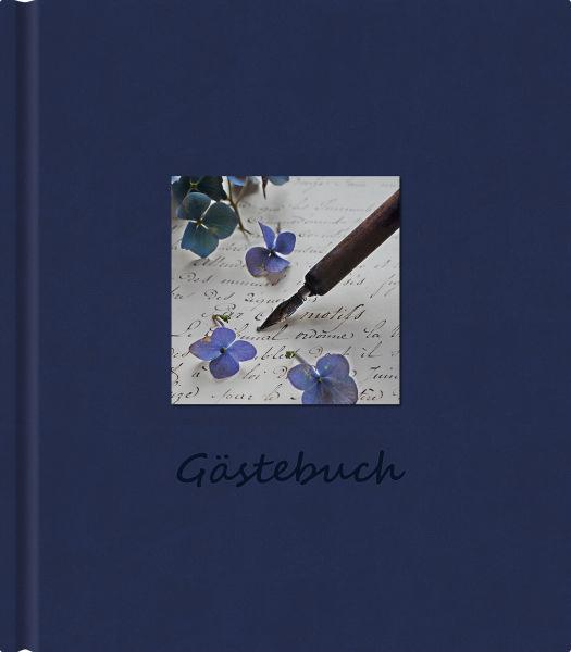 SCRIPTURA Gästebuch Scriptura blau