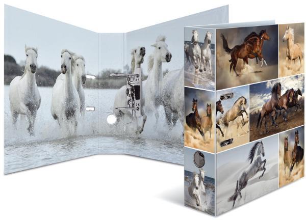 HERMA Ordner Tiere A4 Pferde