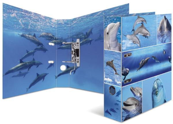 HERMA Ordner Tiere A4 Delfine