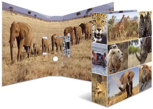 HERMA Ordner Tiere A4 Afrika Tiere