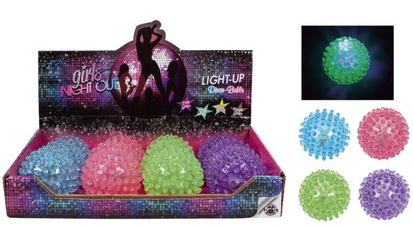 #12xGIRLS NIGHT OUT Leuchtball Disco-Ball Girls Night out