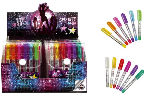 #12xGIRLS NIGHT OUT Gelroller Mini Girls Night out 6ST s...