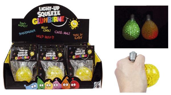 #12xBUDDYS Knautschi Buddys Light-Up Glühbirne