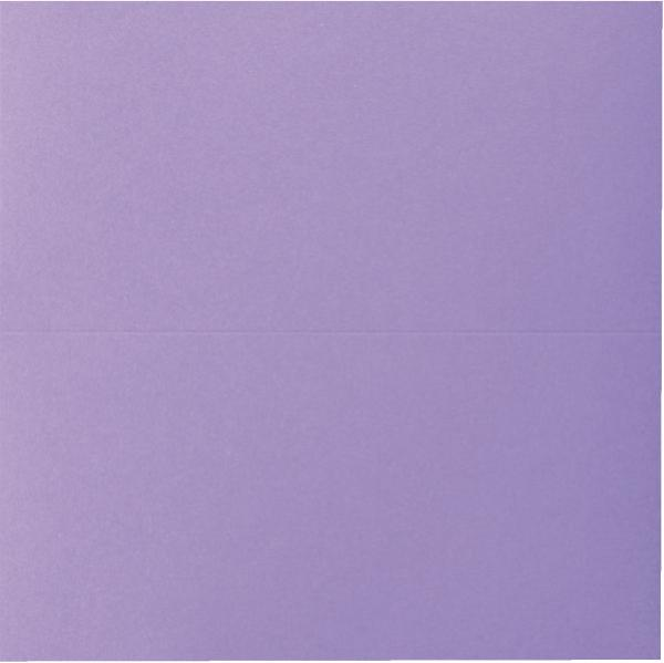 ELCO Doppelkarte 5ST violett