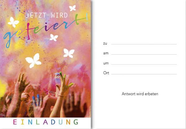 Einladungskarte 5ST