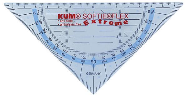 Geo-Dreieck Softie Flex 16 cm   Extreme