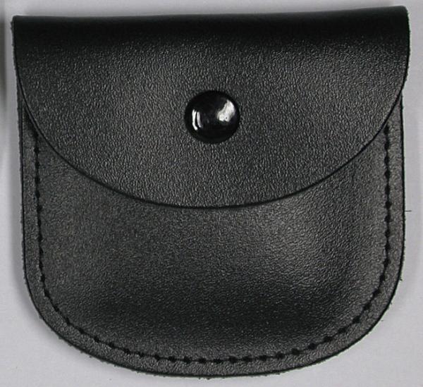 Rosenkranzetui Leder schwarz