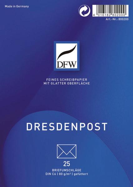 Briefumschlag C6 Dresden Post