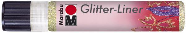 Marabu Glitzerfarbe Glitter-Liner, glitter-champagner,