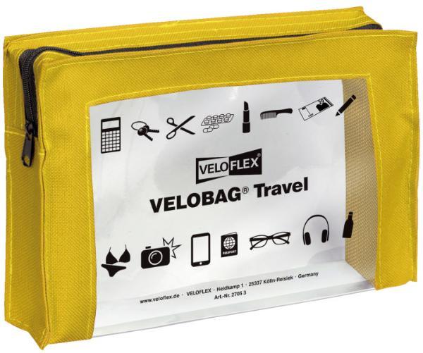VELOFLEX Allzwecktasche Travel  A5 gelb