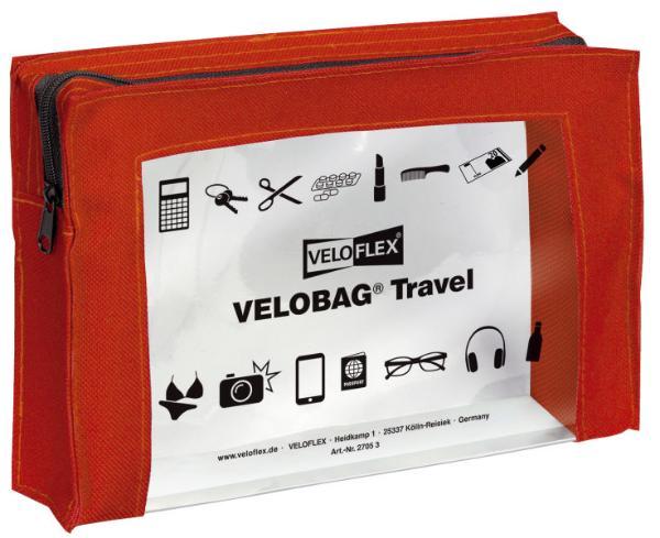 VELOFLEX Allzwecktasche Travel  A5 rot