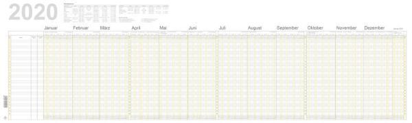 RNK Urlaubsplaner Monat/Tage A4